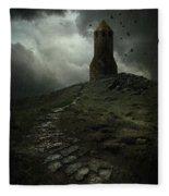 The Lost Tower Fleece Blanket