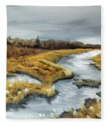 The Marsh Fleece Blanket