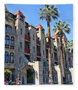 The Mission Inn  Fleece Blanket