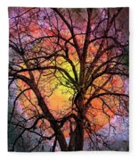 The Moon And The Stars For You Fleece Blanket