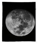 The Moon -  Fleece Blanket