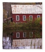 The Old Mill House Fleece Blanket