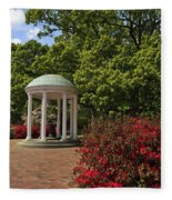 The Old Well At Chapel Hill Fleece Blanket