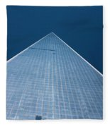 The One World Trade Centre Or Freedom Tower New York City Usa Fleece Blanket