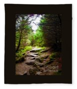 The Path To Righteousness Fleece Blanket