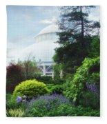 The Perennial Garden Fleece Blanket