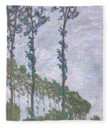 The Poplars Fleece Blanket