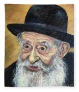 The Rabbi Fleece Blanket