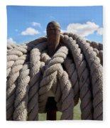 The Ropes Fleece Blanket