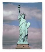 The Statue Of Liberty Fleece Blanket
