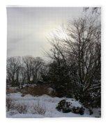 The Storm Is Gone Fleece Blanket