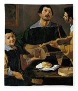 The Three Musicians Fleece Blanket
