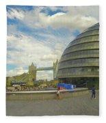 The Towers Of London Fleece Blanket