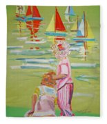 The Toy Regatta Fleece Blanket