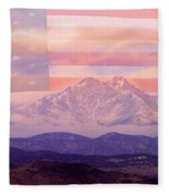 The Twin Peaks - 9-11 Tribute Fleece Blanket