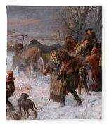 The Underground Railroad Fleece Blanket