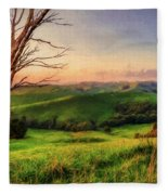 The Valley  Ed1 Fleece Blanket