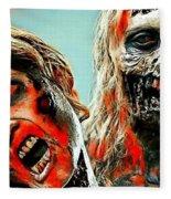 The Walking Dead Fleece Blanket
