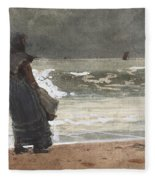 The Watcher, Tynemouth Fleece Blanket