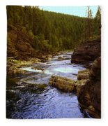 The Yak River Fleece Blanket