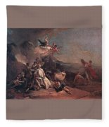 Tiepolo The Rape Of Europa Giovanni Battista Tiepolo Fleece Blanket