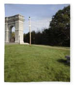 Titus Arch Replica - Northfield Nh Usa Fleece Blanket