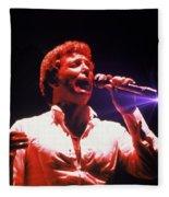 Tom Jones In Concert Fleece Blanket