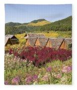 Toong Bua Tong Forest Park Fleece Blanket