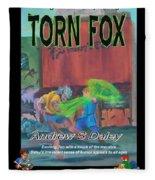 Torn Fox Fleece Blanket