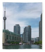 Toronto Harbourfront Fleece Blanket