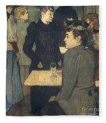 Toulouse-lautrec, 1892 Fleece Blanket