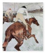 Toulouse-lautrec, 1899 Fleece Blanket