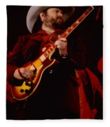 Toy Caldwell Of Themarshall Tucker Band At The Cow Palace Fleece Blanket