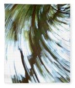 Tree Diptych 2 Fleece Blanket