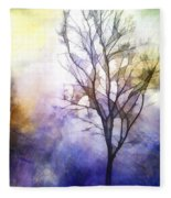 Tree On Vine Fleece Blanket