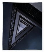 Triangle Staircase Fleece Blanket