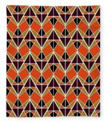 Triangles Pattern Fleece Blanket
