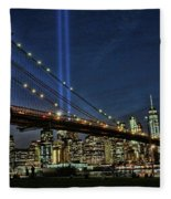 Tribute In Light # 1 Fleece Blanket