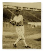 Tris Speaker With Boston Red Sox 1912 Fleece Blanket