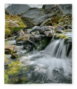 Tryfan In The Ogwen Valley Fleece Blanket