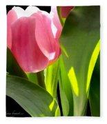 Tulip 2 Fleece Blanket