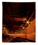 Tunnel Vision  Fleece Blanket