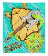 Turtley Awesome Fleece Blanket