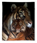 Twin Souls Fleece Blanket