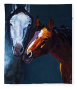Unbridled Love Fleece Blanket