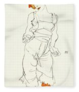 Underclothes And Stockings Fleece Blanket