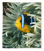 Underwater Close-up Fleece Blanket