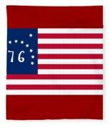 United States Flag Fleece Blanket