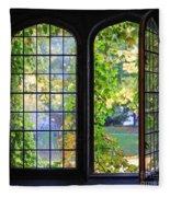 University Windows Fleece Blanket