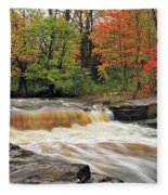 Unnamed Falls Fleece Blanket
